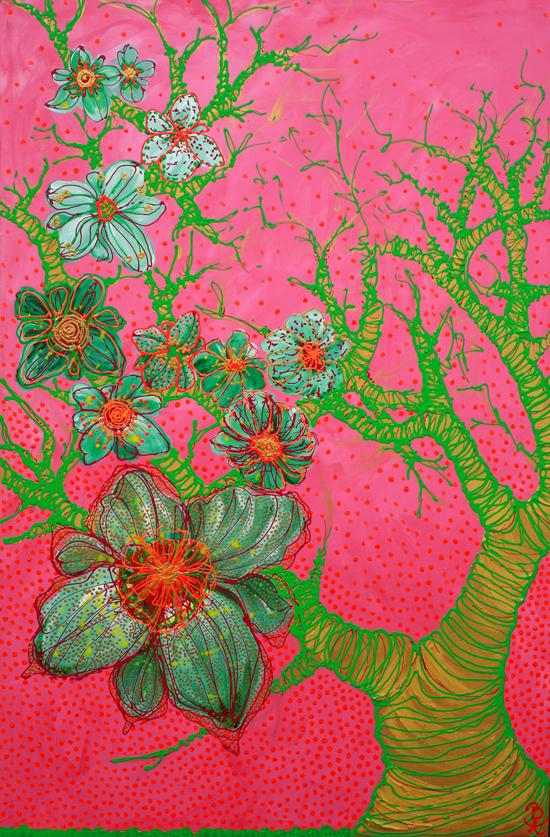 kunst maleri art painting katja bjergby 550