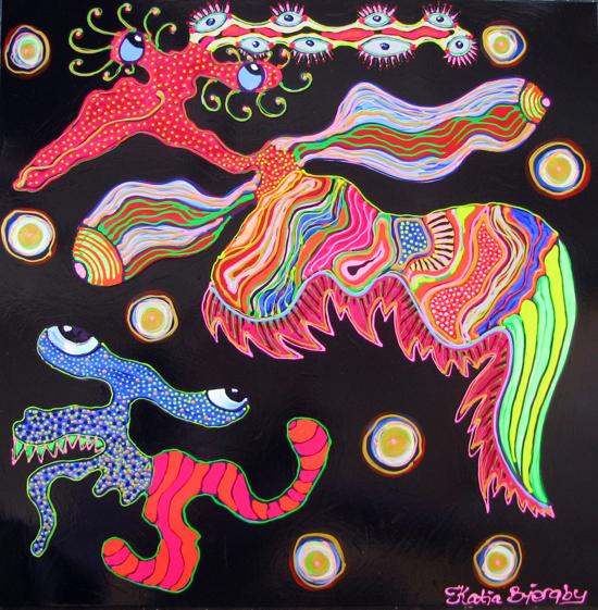 kunst maleri art painting katja bjergby