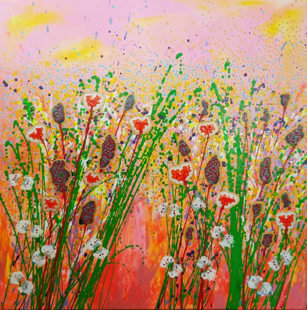 nyt maleri Katja Bjergby i lille