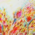 akryl maleri med natur 2stort
