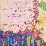 akryl maleri med natur 4stort