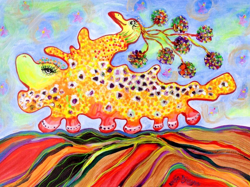 maleri painting colorful fantasi fantasy